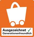 Logo zum Zertifikat Ausgezeichnet Generationenfreundlich