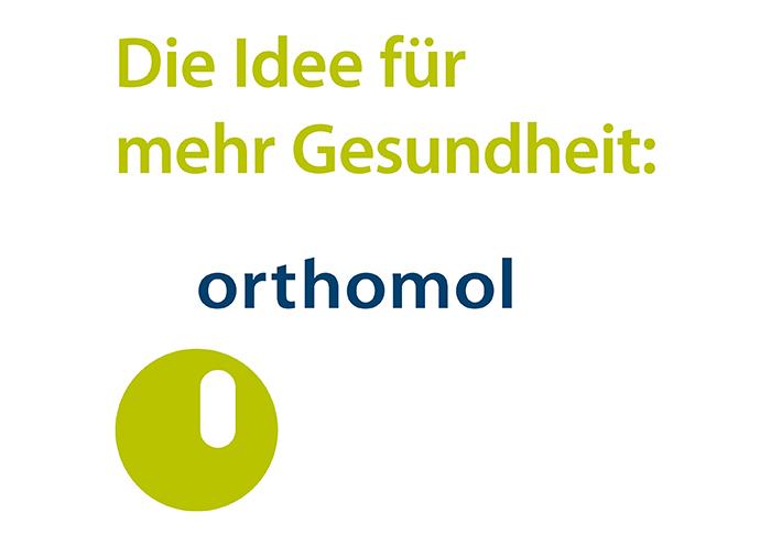 Orthomol Logo - Idee für mehr Gesundheit