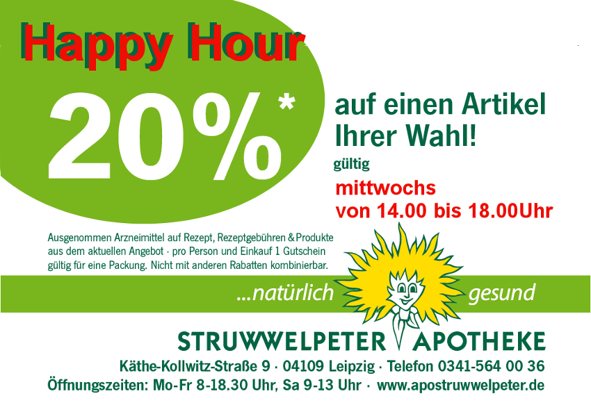 Happy Hour Gutschein